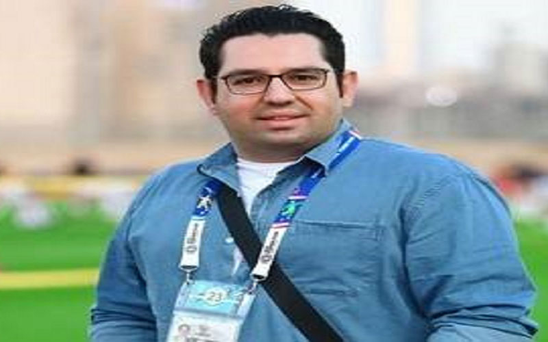 محمدرضا احمدی گزارشگر دیدار امشب ایران و بحرین شد