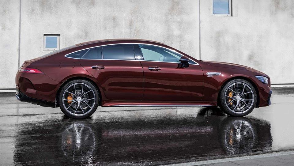 مرسدس AMG GT مدل 2022 رونمایی شد
