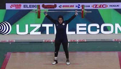 مسابقه جهانی دیگری در انتظار دختر تاریخساز وزنهبرداری