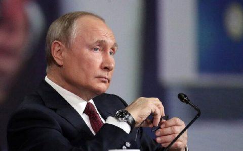 واکنش پوتین به خبر فروش ماهواره روسی به ایران
