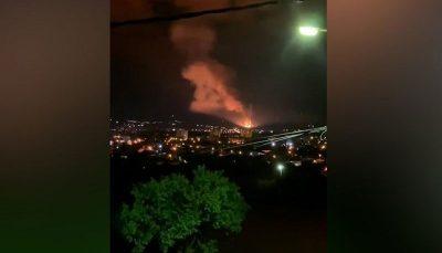 وقوع چندین انفجار در یک کارخانه مهماتسازی صربستان