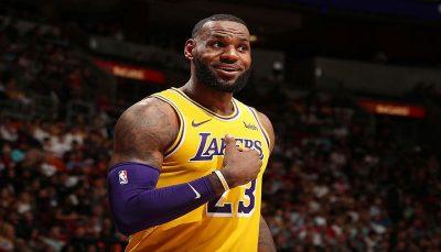 پادشاه بسکتبال با شماره جدید به NBA باز میگردد