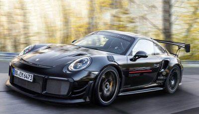 پورشه 911GT2 RS با سیستم تعلیق سفارشی، رکورد جدیدی در نوربرگ رینگ ثبت کرد