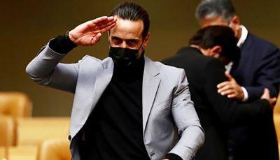 کنایه تند علی کریمی به رئیس فدراسیون فوتبال