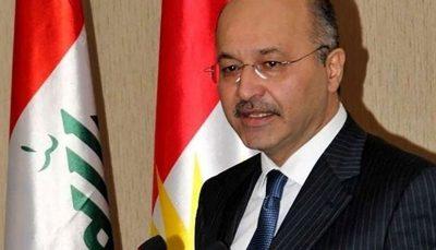 گفتوگوی تلفنی رئیسجمهوری عراق با ابراهیم رئیسی