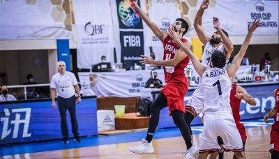 ۱۳ تیم به بسکتبال کاپ آسیا رسیدند