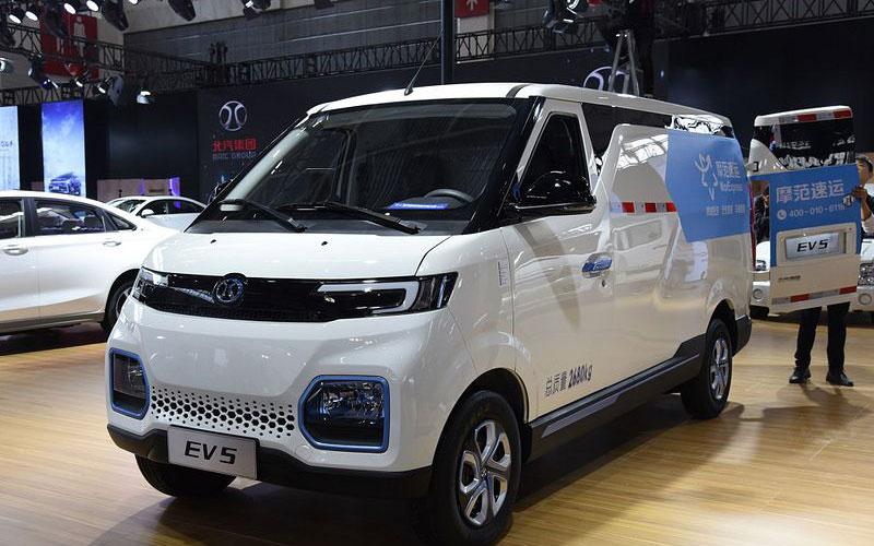 چانگه EV5؛ ون کاربردی الکتریکی از یک کمپانی چینی گمنام / عکس