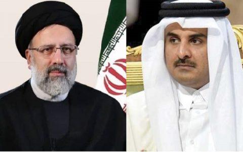 گفتگوی تلفنی امیر قطر و رئیسی