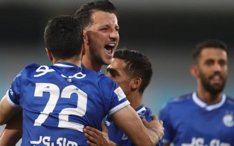 پیروزی تیم استقلال در مقابل پدیده مشهد