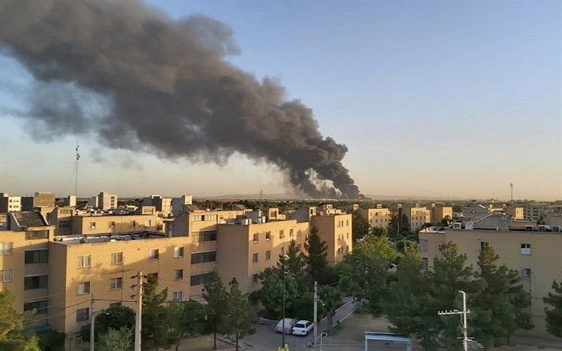 جزئیاتی از آتش سوزی پالایشگاه تهران