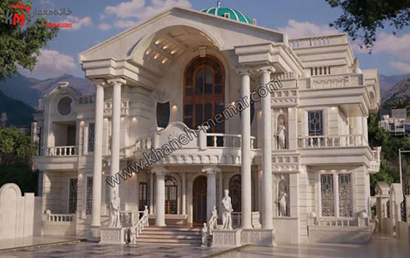نمای رومی و دلایل محبوبیت آن در ایران