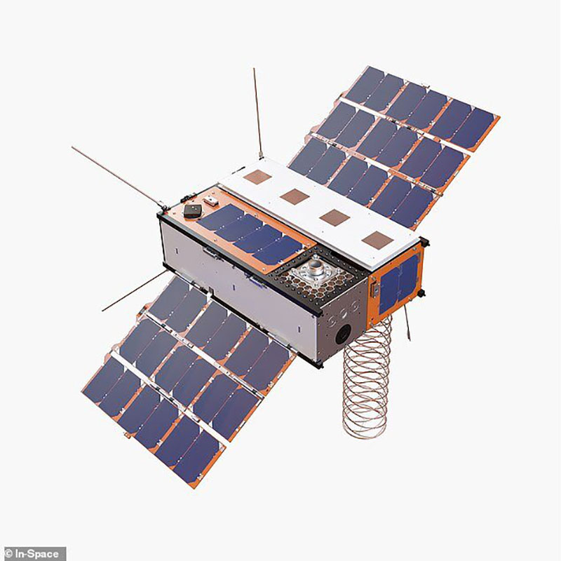 فالکون ۹ به همراه 3 ماهواره ساخت انگلیس امشب به فضا میرود