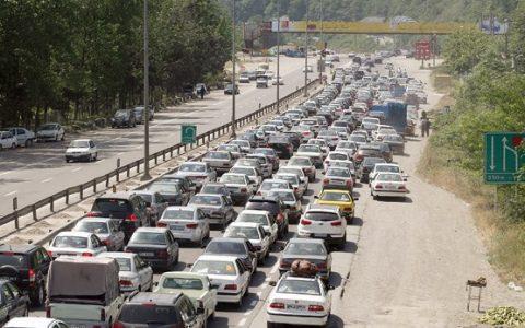 ترافیک در آزادراه تهران-کرج