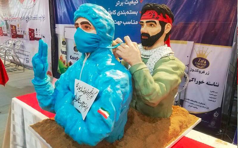 کیکهای چند میلیون تومانی در تهران /تصاویر