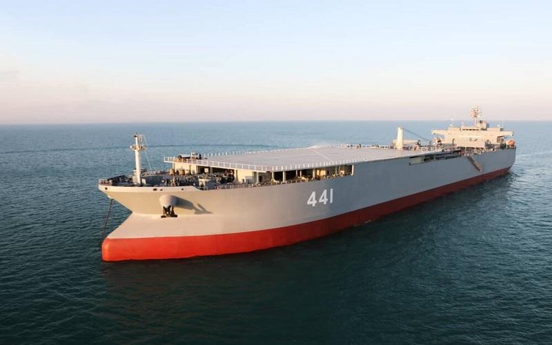 کشتی جنگی ایران در ونزوئلا
