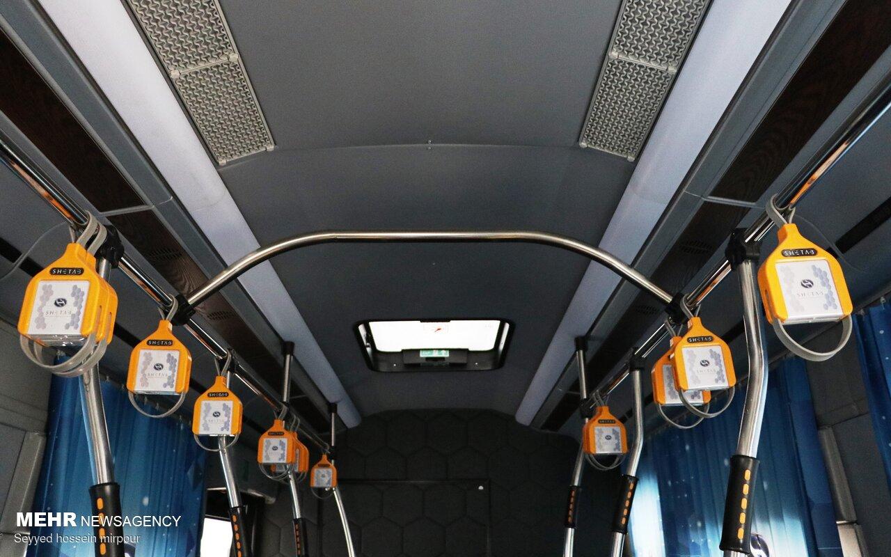 رونمایی از نخستین اتوبوس برقی تولید داخل