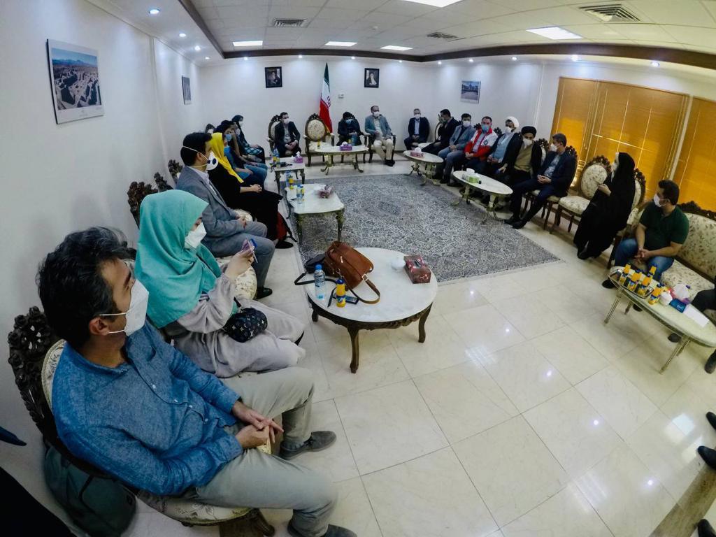 پیکر دو خبرنگار جان باخته به سمت تهران بدرقه شد