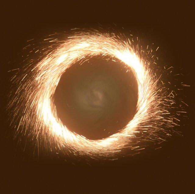 سوخت موشک چینی در آسمان/ فیلم