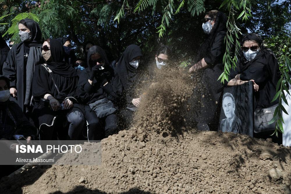 مراسم تشییع پیکر خبرنگاران فقید ایسنا و ایرنا