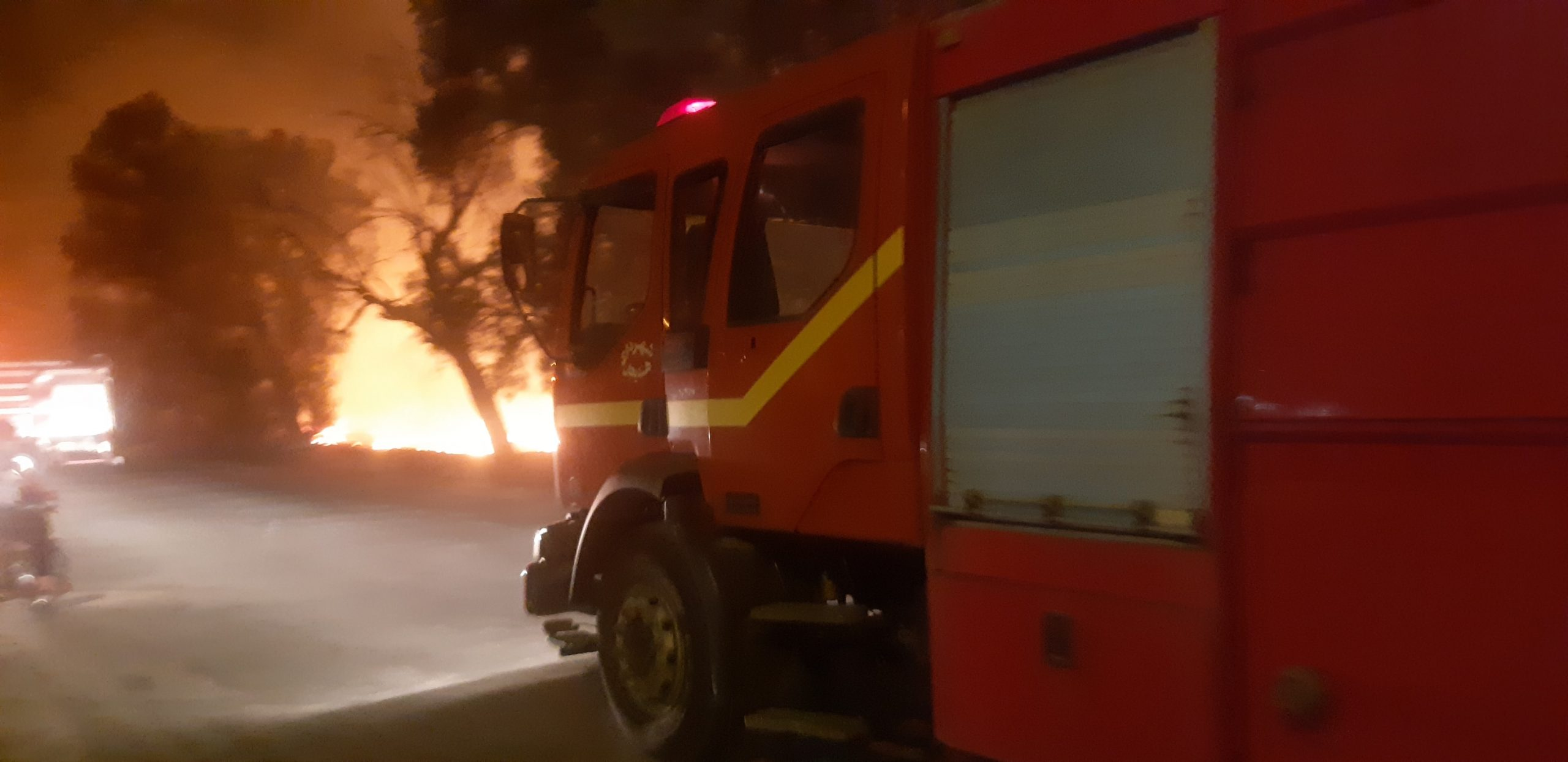 وقوع آتش در ۹ هکتار از مزارع کشاورزی هندیجان