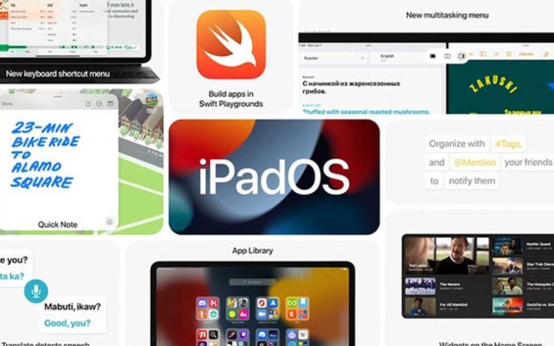 اپل سیستم عامل iPadOS 15 را معرفی کرد