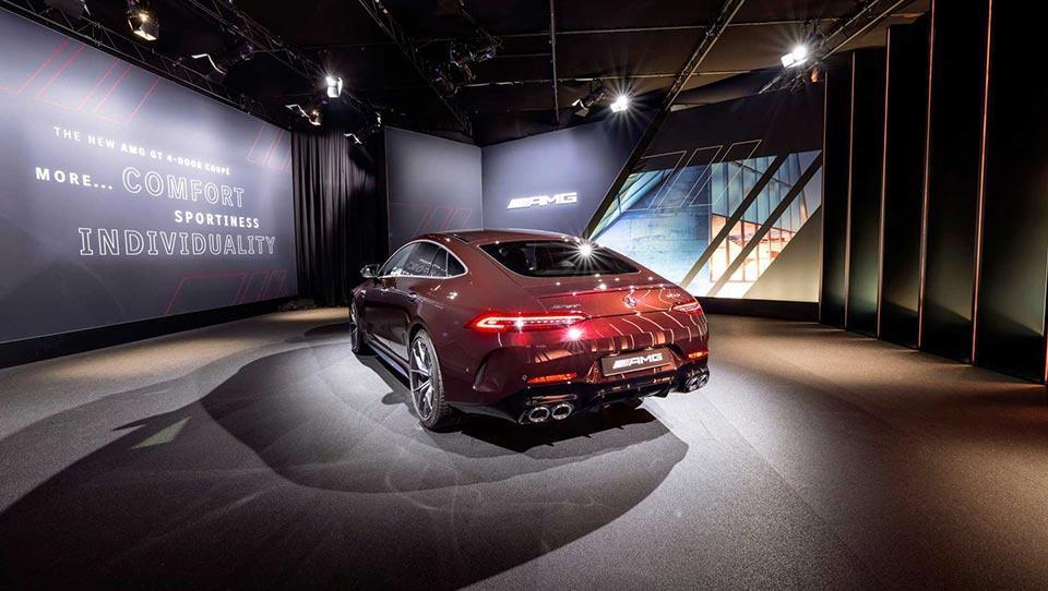 مرسدس AMG GT مدل 2022