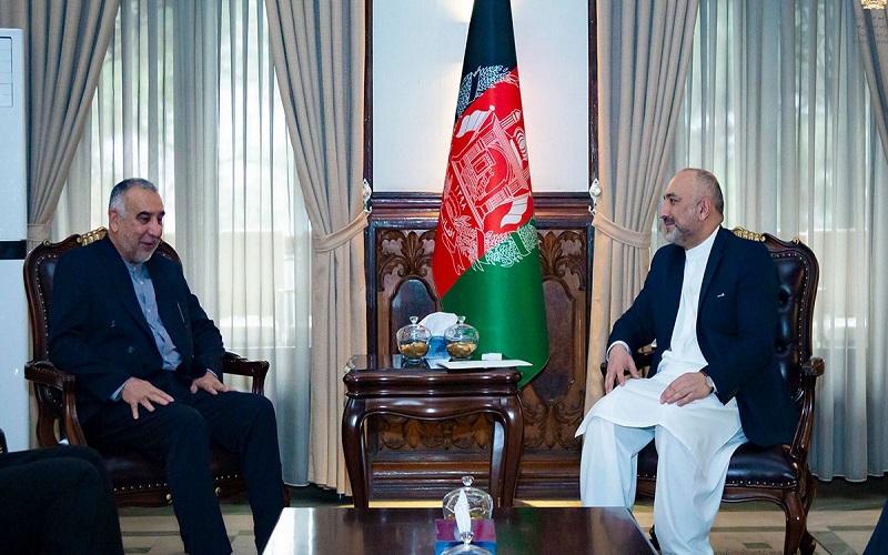 گفتوگوی تلفنی محمدابراهیم طاهریان فرد با وزیر خارجه افغانستان