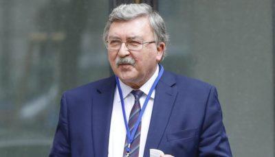 اولیانوف: در صورت خارج شدن آمریکا از برجام ایران اقدامات شدیدی انجام میدهد