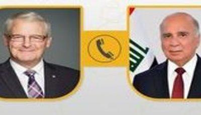 تماس تلفنی گارنو با فؤاد حسین