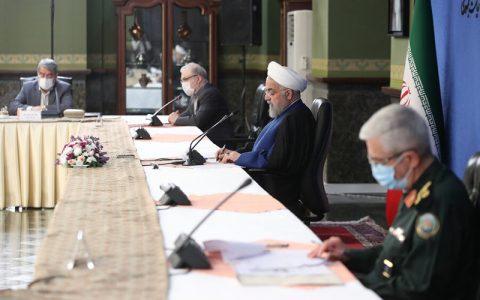 آخرین جلسه ستاد ملی کرونا در دولت روحانی