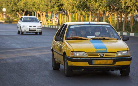 آغاز واکسیناسیون رانندگان تاکسی از دوشنبه