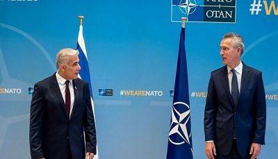 اظهارات ضد ایرانی «استولتنبرگ» در دیدار با «لاپید»
