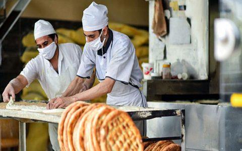 افزایش ابتلای نانوایان یک استان به کرونا