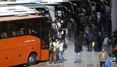 افزایش تقاضا برای خرید بلیت اتوبوس در پی تعطیلی تهران و البرز