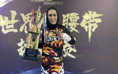 الهه منصوریان: اطلاعی از مسابقهام در سازمان WBK نداشتم