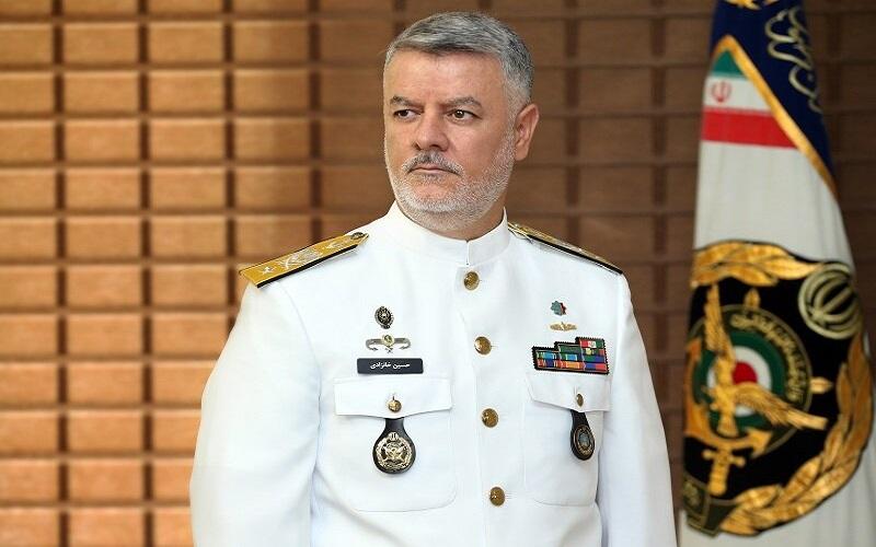 فرمانده نیروی دریایی ارتش به روسیه می رود