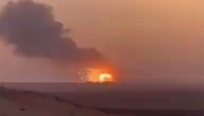 انفجار در انبار مهمات در «الخرج» عربستان