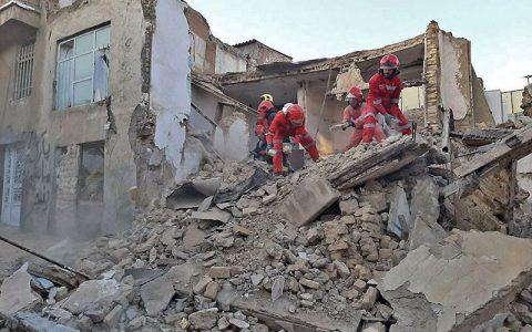 انفجار و تخریب کامل ۲ واحد مسکونی در مشهد