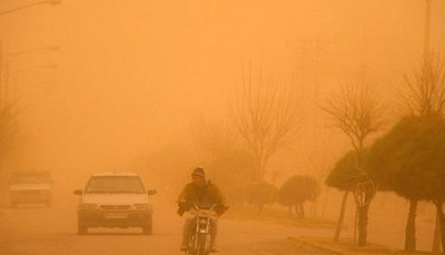 ایران کانون گرد و غبار در منطقه شد