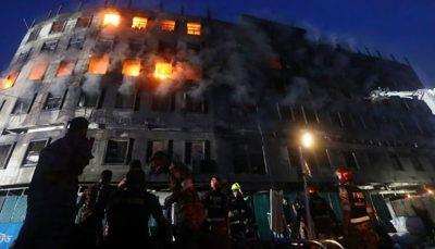 بیش از 50 کشته در پی آتشسوزی در یک کارخانه در بنگلادش