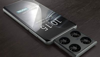 تصاویر رندر گوشی هوشمند مجهز به پهپاد دوربیندار ویوو منتشر شد