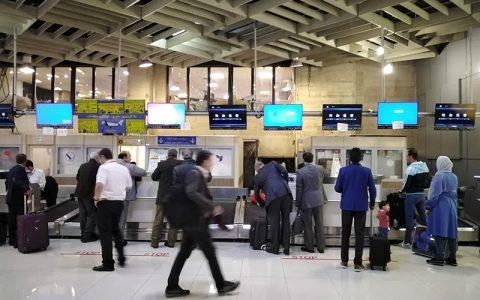 تعطیلی دو ساعته فرودگاه های تهران در روز تحلیف