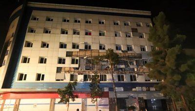 انفجار در یک ساختمان در شهران