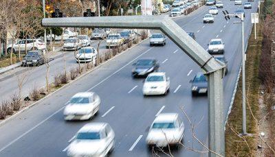 جریمه خودروهای بدون معاینه فنی توسط دوربینهای برونشهری