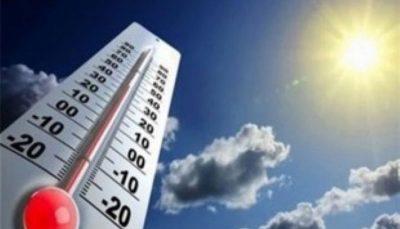 دمای برخی مناطق کشور به بالای ۵۰ درجه افزایش میابد