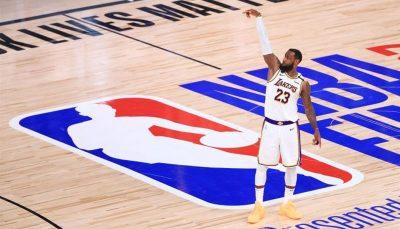 رونمایی از لوگو جدید NBA بدون برایانت / عکس