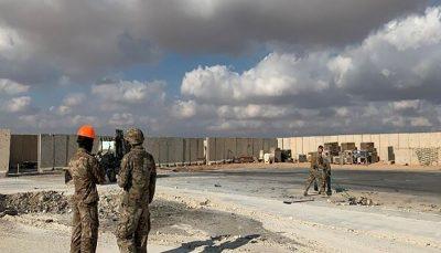 شنیده شدن صدای ۴ انفجار در عین الاسد در غرب عراق