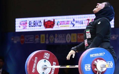 فدراسیون پزشکی مانع از اعزام وزنه بردار بانوی المپیکی شد