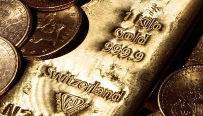قیمت جهانی طلا به ۱۸۰۳ دلار رسید