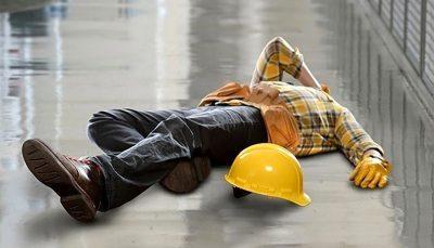 مرگ کارگر ساختمانی بر اثر سقوط از ارتفاع طبقه ششم